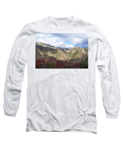 San Gabriel Mountains National Monument Long Sleeve T-Shirt by Kyle Hanson