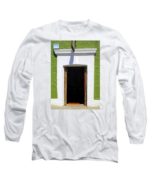 San Jose Del Cabo Door 7 Long Sleeve T-Shirt by Randall Weidner
