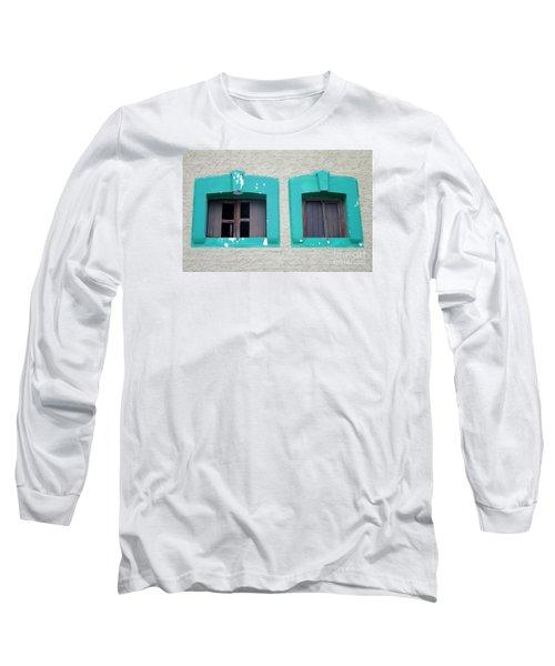 San Jose Del Cabo Windows 13 Long Sleeve T-Shirt by Randall Weidner