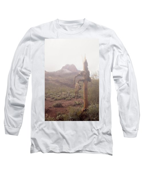 Long Sleeve T-Shirt featuring the photograph Sancuatary Cove Fog by Donna Greene