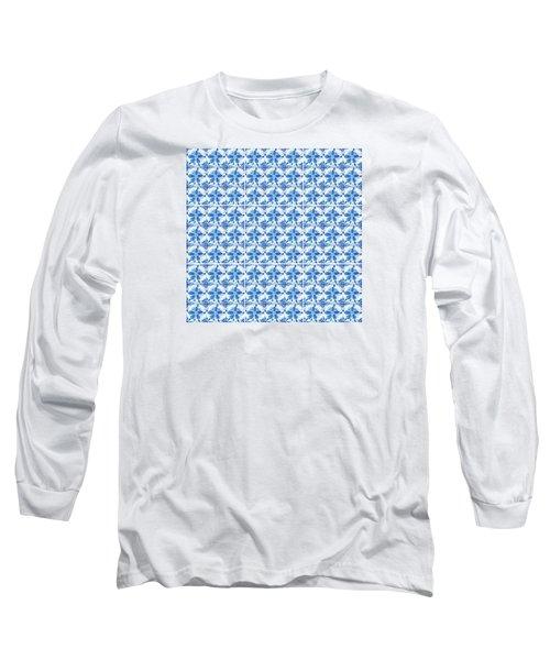 Sand Dollar Delight Pattern 1 Long Sleeve T-Shirt