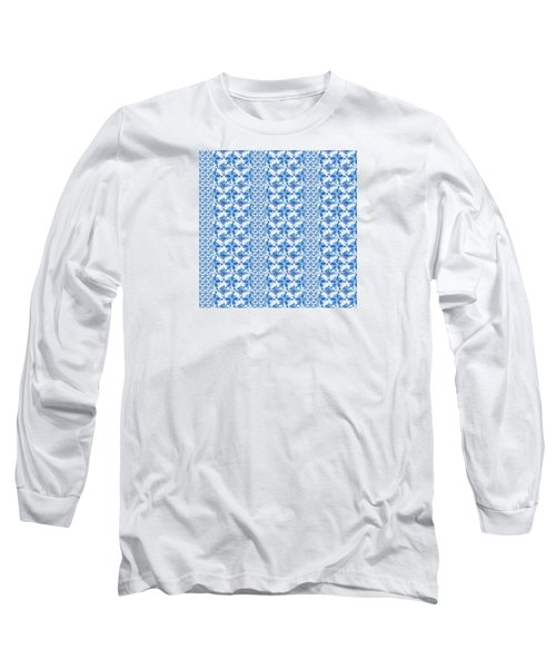 Sand Dollar Delight Pattern 2 Long Sleeve T-Shirt