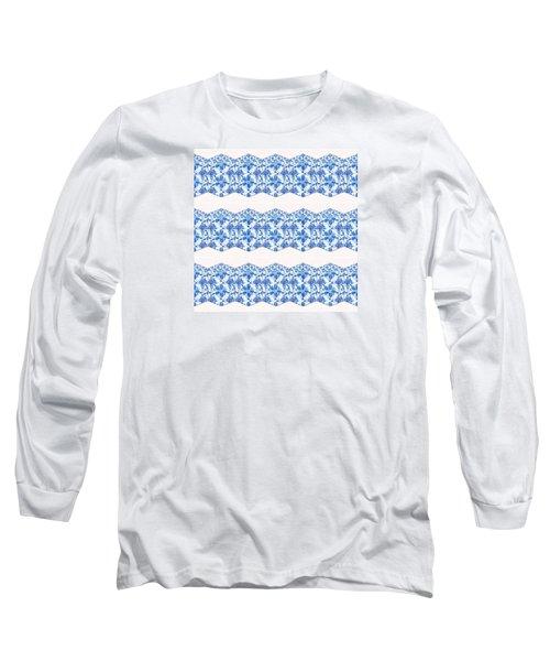 Sand Dollar Delight Pattern 4 Long Sleeve T-Shirt