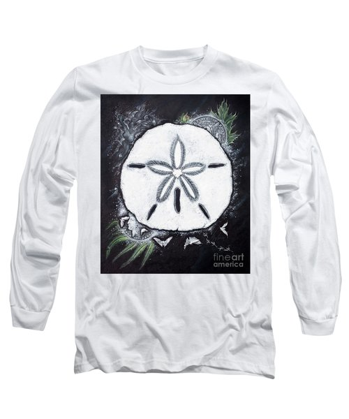 Sand Dollars Long Sleeve T-Shirt by Scott and Dixie Wiley