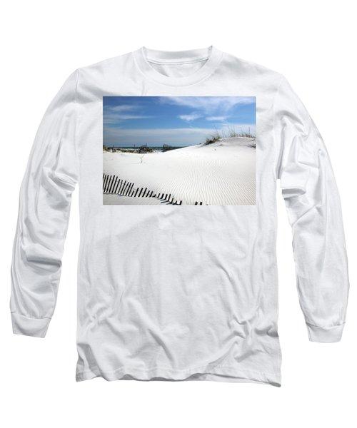 Sand Dunes Dream Long Sleeve T-Shirt by Marie Hicks