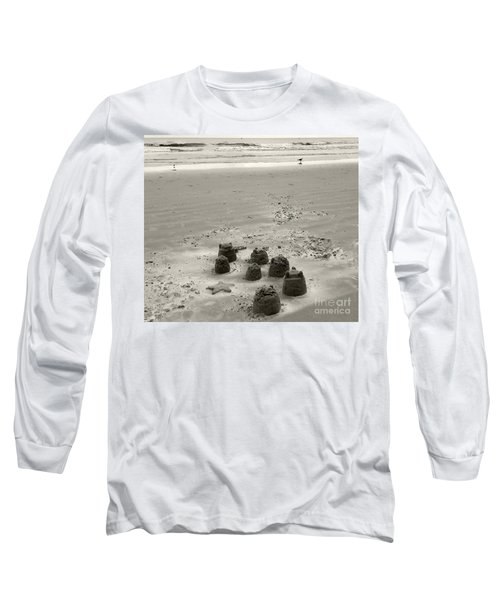 Sand Fun Long Sleeve T-Shirt by Raymond Earley