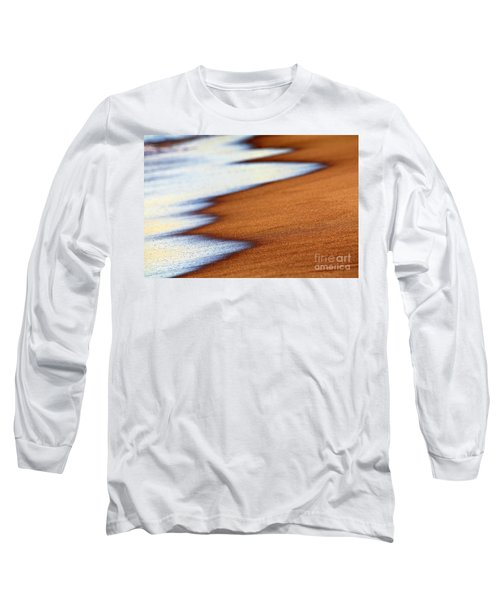 Sand And Waves Long Sleeve T-Shirt