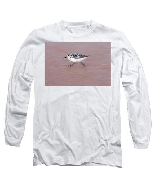 Sanderling On The Run Long Sleeve T-Shirt