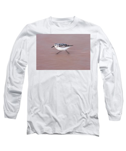 Sanderling On The Run Long Sleeve T-Shirt