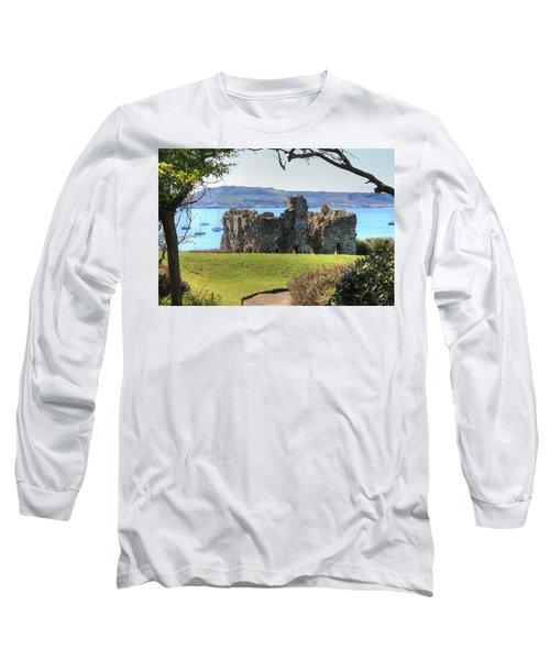Sandsfoot Castle With Portland Long Sleeve T-Shirt