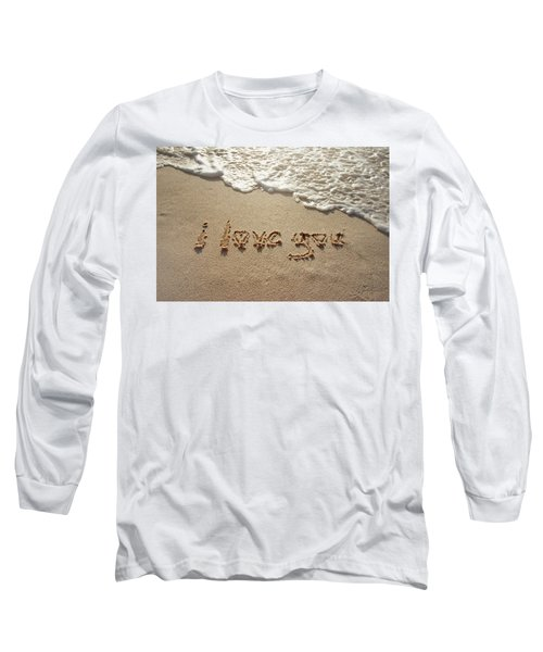Sandskrit Long Sleeve T-Shirt