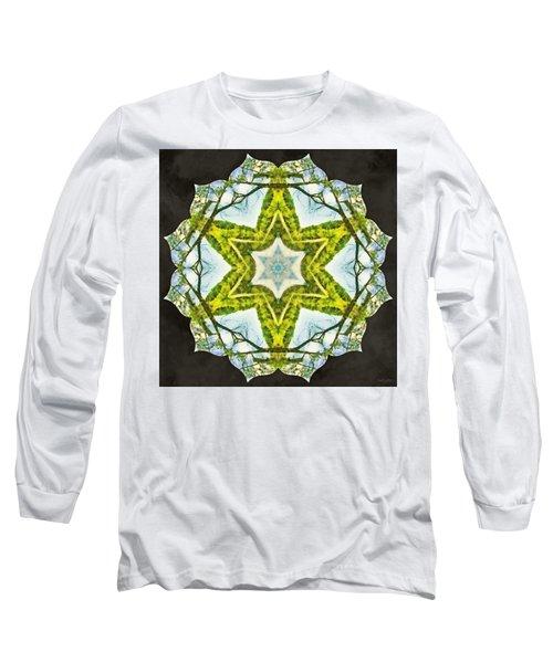 Long Sleeve T-Shirt featuring the photograph Sandstar by Derek Gedney