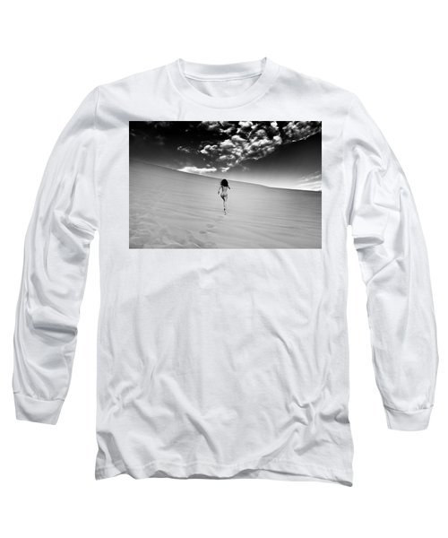 Sandy Dune Nude - Catching The Clouds Long Sleeve T-Shirt
