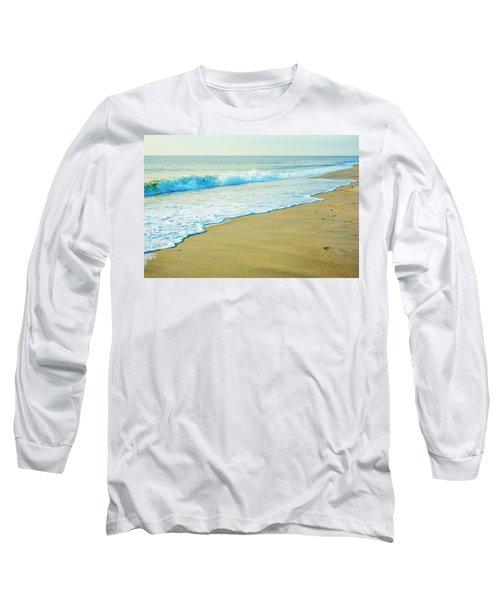 Sandy Hook Beach, New Jersey, Usa Long Sleeve T-Shirt