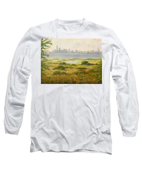 Sandy Hook View Long Sleeve T-Shirt