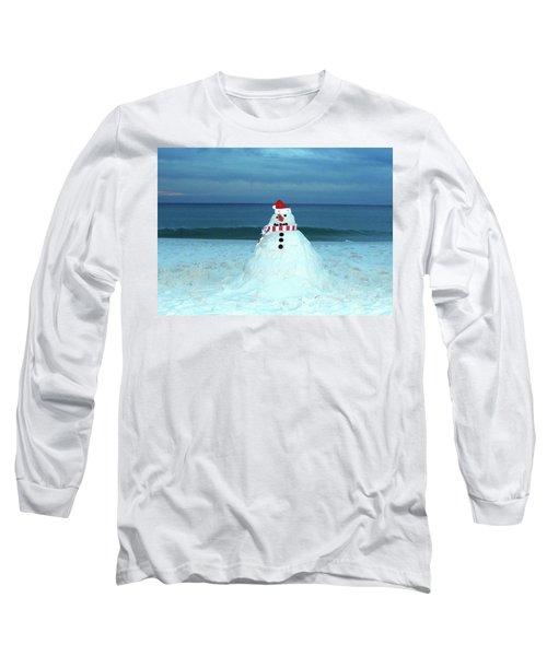 Sandy The Snowman Long Sleeve T-Shirt