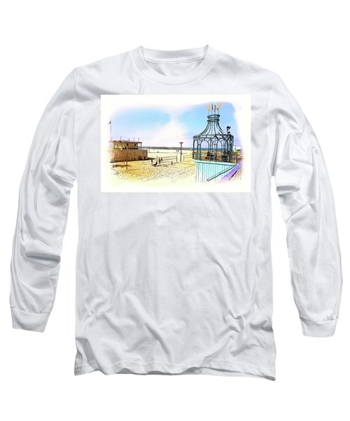 Santa Monica Pier Ver1  Long Sleeve T-Shirt