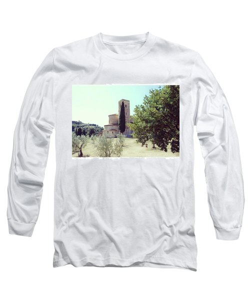 Abbey Of Sant'antimo Long Sleeve T-Shirt