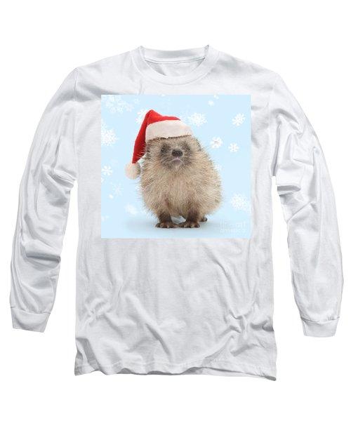 Santa's Prickly Pal Long Sleeve T-Shirt