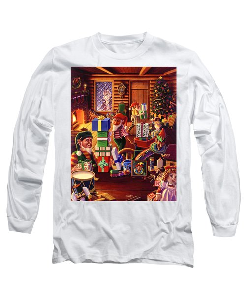 Santa's Workshop Long Sleeve T-Shirt