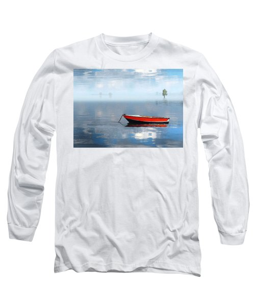 Santee Lakes Serenity Long Sleeve T-Shirt by Deborah Smith