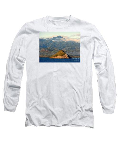 Sao Tome Africa Harbor Long Sleeve T-Shirt by John Potts