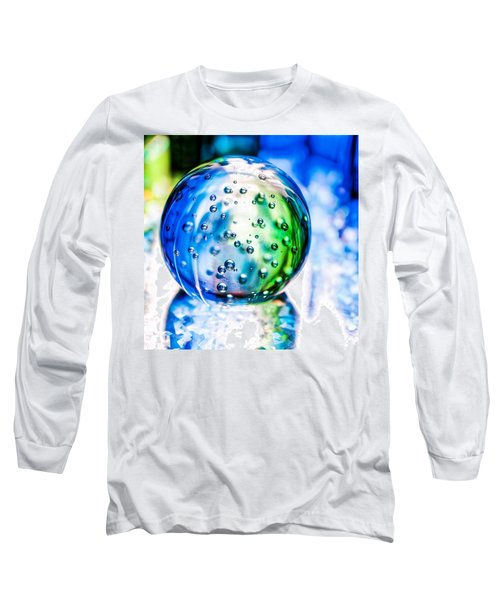 Sapphires And Emeralds II - Square Long Sleeve T-Shirt