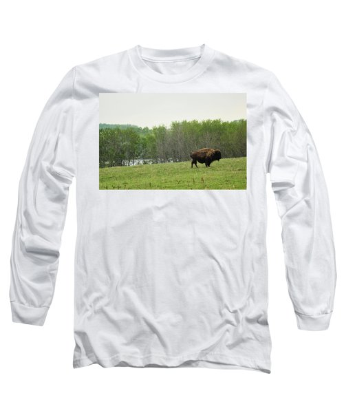 Saskatchewan Buffalo Long Sleeve T-Shirt