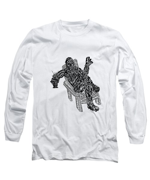 Sasquatch Cocktail Long Sleeve T-Shirt