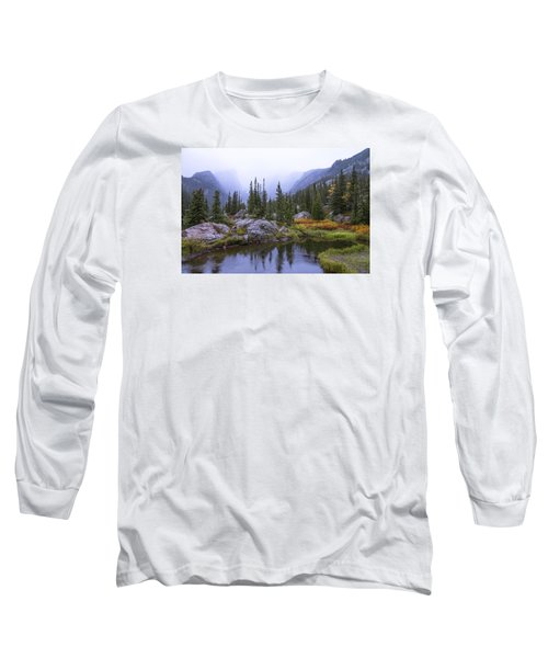 Saturated Forest Long Sleeve T-Shirt by Chad Dutson