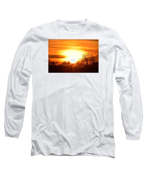 Saturday Mornings Sunrise Long Sleeve T-Shirt by Dacia Doroff