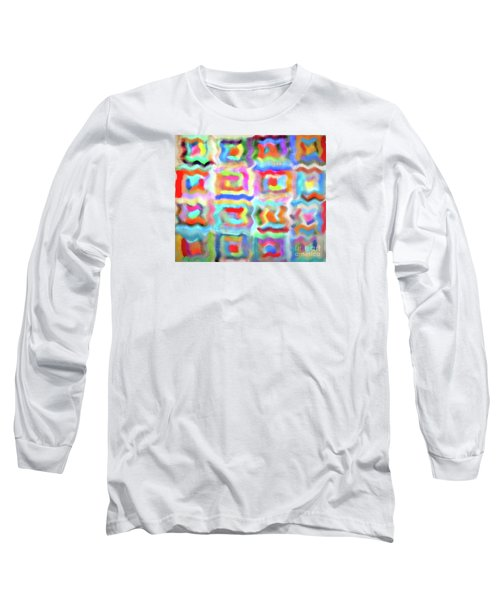 Saturday Quilting Muse Long Sleeve T-Shirt by Gwyn Newcombe
