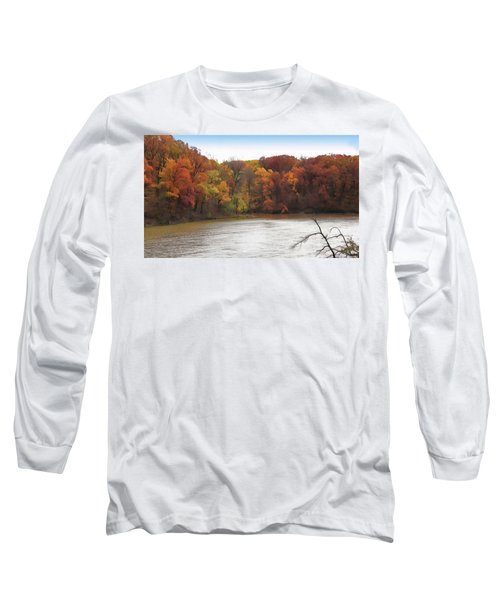 Sauk Lake Autumn Long Sleeve T-Shirt
