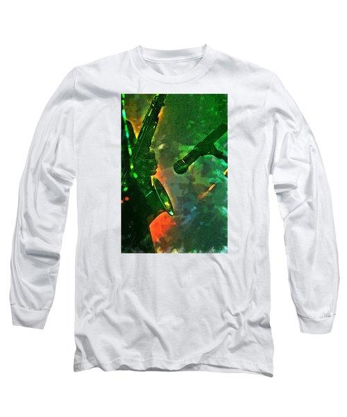 Sax Man Long Sleeve T-Shirt