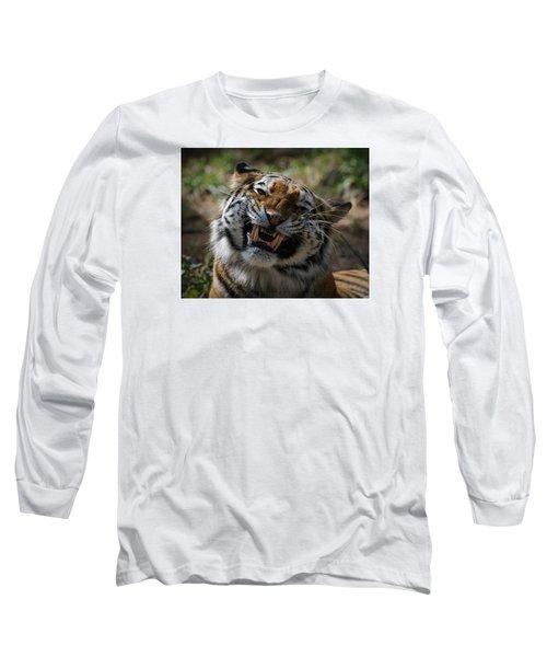 Say Cheese Long Sleeve T-Shirt by Ernie Echols