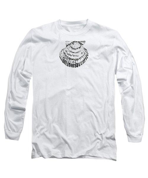 Scallop Long Sleeve T-Shirt