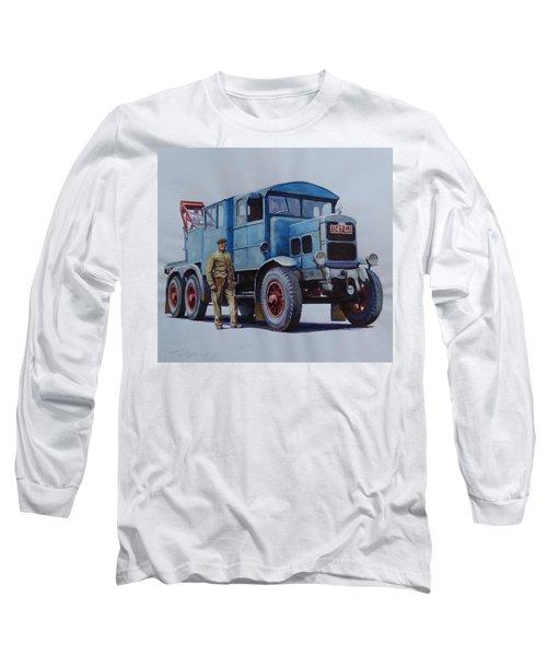 Scammell Wrecker. Long Sleeve T-Shirt