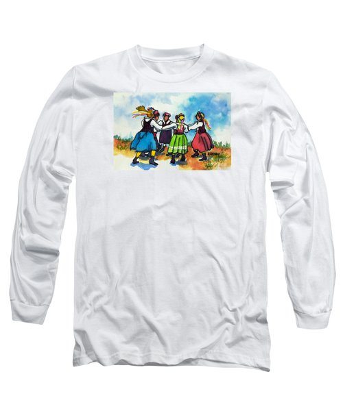 Scandinavian Dancers Long Sleeve T-Shirt