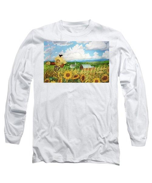 Scarecrow Farm Long Sleeve T-Shirt