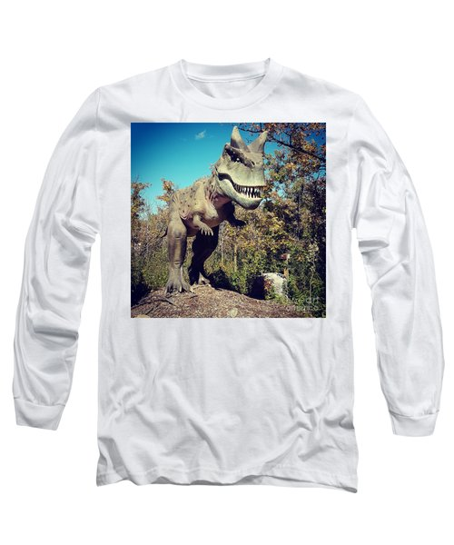 Scary Carnotaurus Long Sleeve T-Shirt