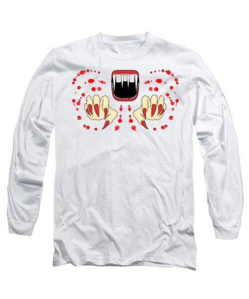 Scary Night Long Sleeve T-Shirt