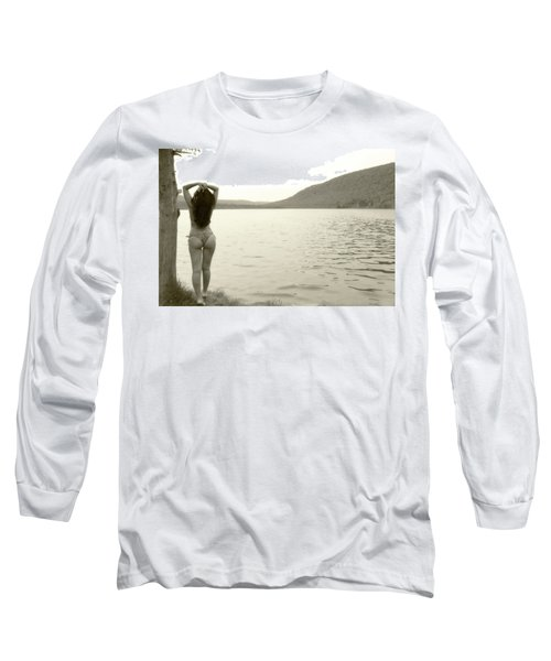Scenery Long Sleeve T-Shirt by David Stasiak