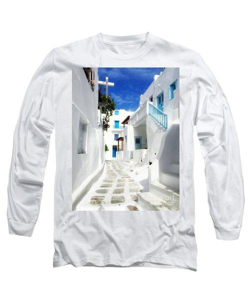 Scenic Mykonos Long Sleeve T-Shirt