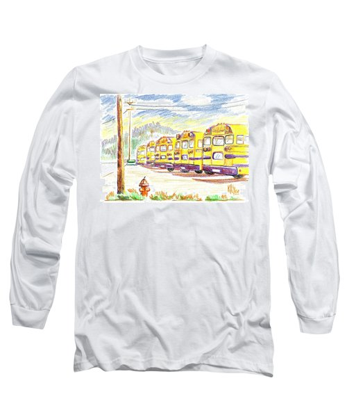School Bussiness Long Sleeve T-Shirt