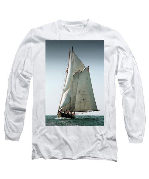 Schooner Ernestina Long Sleeve T-Shirt