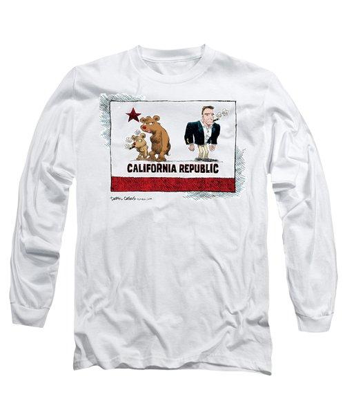 Schwarzenegger Love Child Flag Long Sleeve T-Shirt