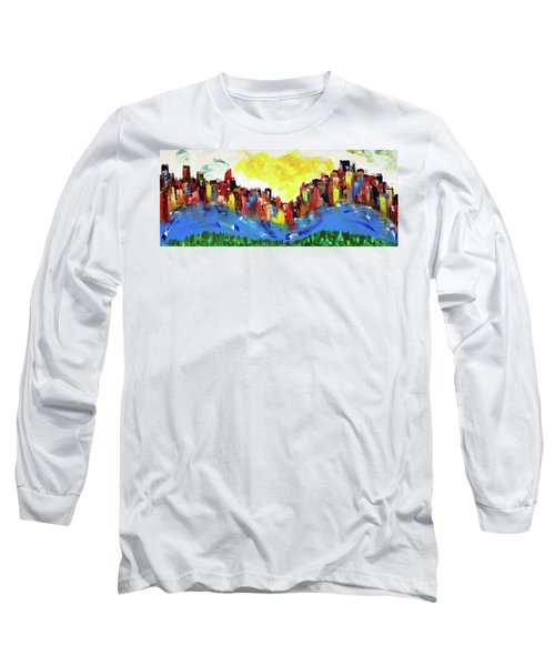 Scioto Mile Riverfront Long Sleeve T-Shirt