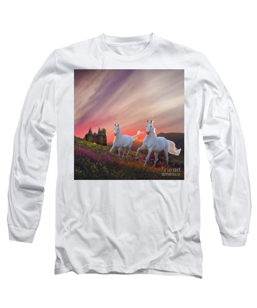 Scotland Fantasy Long Sleeve T-Shirt