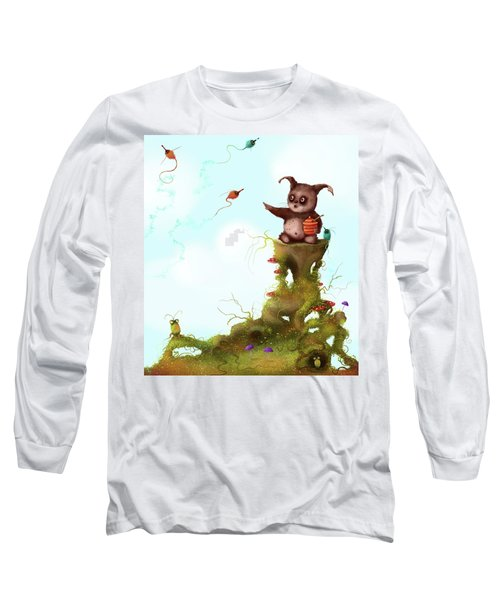 Scrumpy And The Phizz Poppers  Long Sleeve T-Shirt
