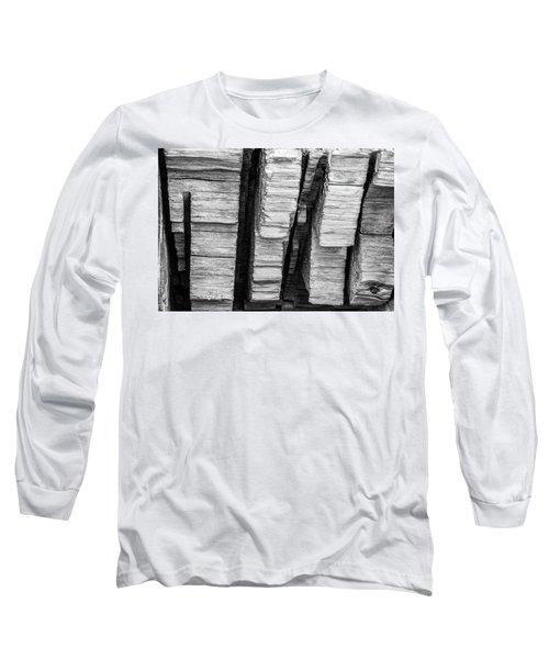 Sculpted Log Long Sleeve T-Shirt